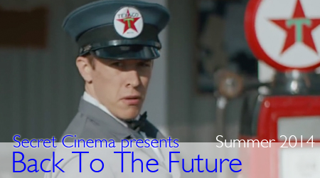James Byng in Secret Cinema presents: Back to the Future