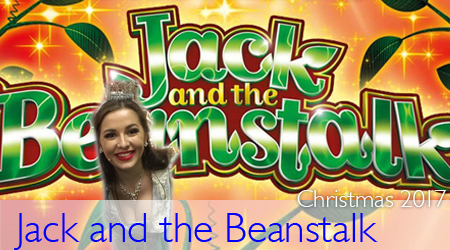 Jess Pritchard in Jack and the Beanstalk