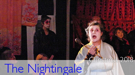 Peta Taylor in The Nightingale